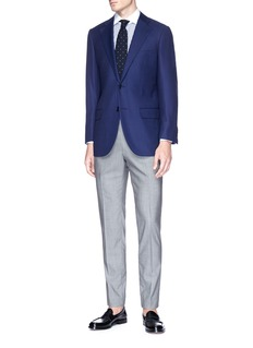 Tomorrowland Wool hopsack soft blazer