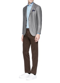 Tomorrowland Loro Piana Sunset® silk-cashmere twill blazer