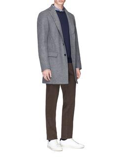 Tomorrowland Wool blend melton coat