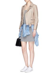 rag & bone/JEAN 'Ryder' stripe linen-modal dress