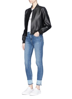 rag & bone/JEAN 'Cooper' lambskin leather jacket