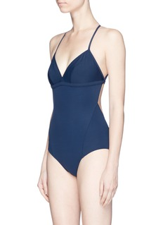 Flagpole Swim 'Hudson' halterneck one-piece swimsuit