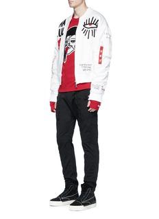 HacullaCharacter appliqué sweatshirt