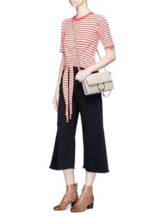 Sonia Rykiel Frayed cuff culotte jeans