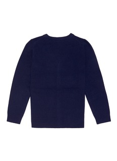 Acne Studios 'Mini Neve F' face patch wool kids cardigan