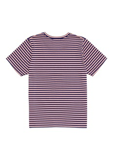 Acne Studios 'Mini Napa Face' stripe kids T-shirt