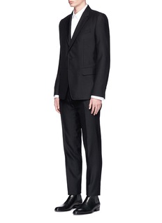 Dries Van Noten 'Kenneth' diamond jacquard suit