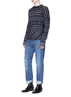 Dries Van Noten 'Tacos' Fair Isle jacquard sweater