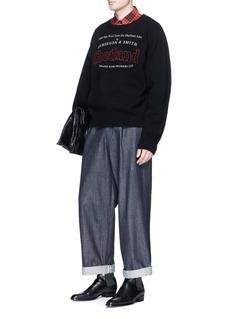 Dries Van Noten 'Tales' wool sweater
