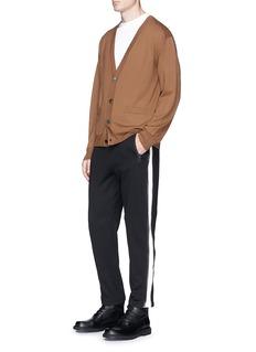 Dries Van Noten 'Hackett' zip gusset drawstring jogger pants