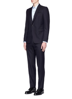 Dries Van Noten 'Kenneth' wool herringbone suit