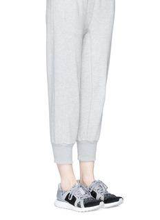 Adidas By Stella Mccartney 'ULTRABOOST' caged metallic Primeknit sneakers