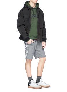 KENZO Logo print sweat shorts