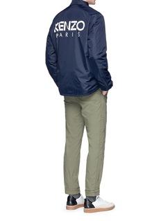 KENZO Logo print padded coach jacket