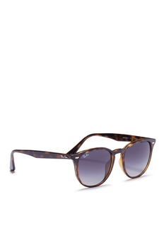 Ray-Ban 'RB4259F' tortoiseshell acetate square sunglasses