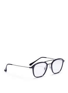 Ray-Ban 'RX7098' square acetate optical glasses