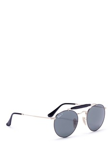 Ray-Ban 'RB3747' round aviator sunglasses