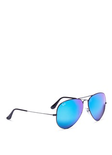 Ray-Ban 'Aviator Large Metal' gradient mirror sunglasses