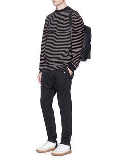 Alexander Wang  Stripe twill long sleeve T-shirt
