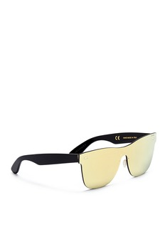 SUPER 'Tuttolente Screen Classic Gold' rimless all lens sunglasses
