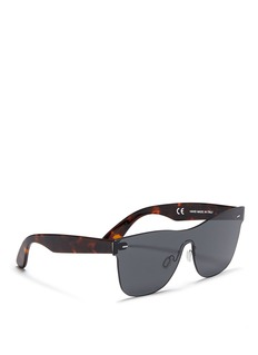 SUPER 'Tuttolente Screen Flat Top Black' sunglasses