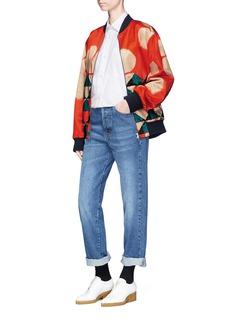 Dries Van Noten 'Charle' oversized cotton poplin shirt