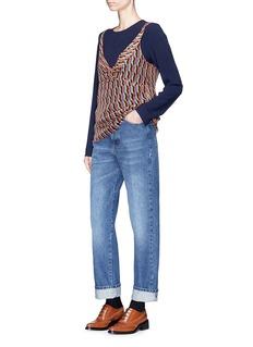 Dries Van Noten 'Pisco' boyfriend jeans
