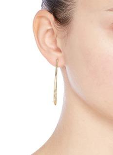 Elizabeth and James 'Helene' sculptural hoop earrings