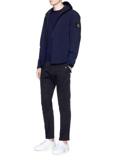 Stone Island Soft Shell-R Primaloft® padded zip hoodie