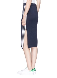 Adidas 3-stripes woven pencil skirt