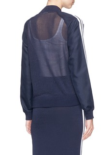 Adidas 3-stripes panelled track jacket