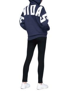 Adidas Logo appliqué hoodie