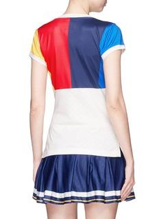 Adidas 'NY' colourblock climacool® tennis T-shirt