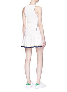 Adidas 'New York' pleated hem climacool® performance mini dress