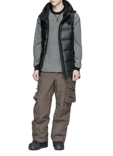 Templa Hooded down puffer vest