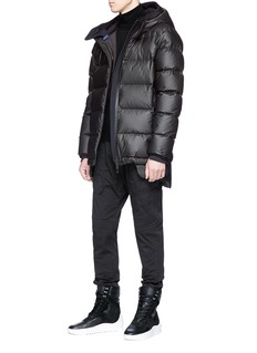 Templa Hooded down puffer jacket