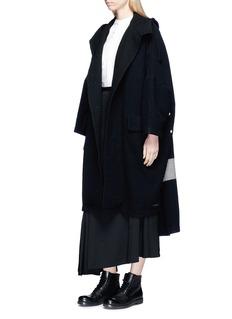 Yohji Yamamoto Wrap effect asymmetric long skirt