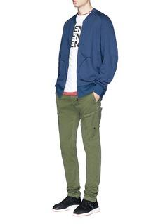 Adidas 'XBYO' reflective print track jacket
