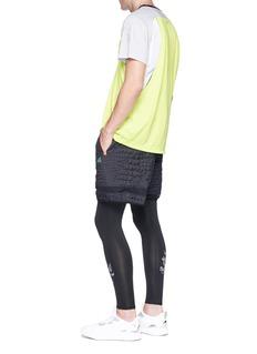 Adidas X Kolor Colourblock Climachill® performance T-shirt