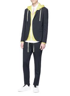 John Elliott Ripstop zip hoodie