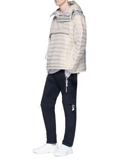 Adidas Day One 'Wind' detachable panel Polartec® padded pants
