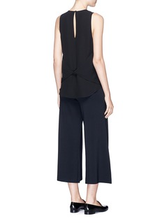 Theory 'Zabetha' silk georgette sleeveless top