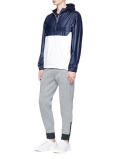 NikePackable colourblock ripstop anorak jacket