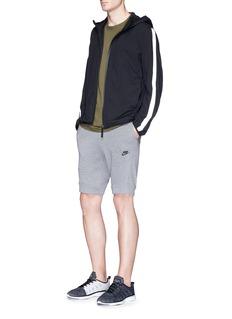 Nike Plus print Tech Fleece sweat shorts
