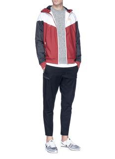 Nike Colourblock ripstop track jacket