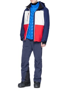 Perfect Moment 'Chamonix' stripe ski jacket
