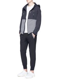 The Upside 'Majestic' geometric print track jacket