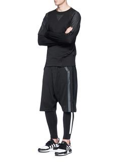 Y-3 Padded shoulder sweatshirt