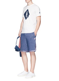 NikeLab x Pigalle French terry basketball shorts
