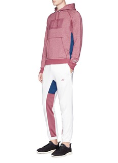 NikeLab x Pigalle colourblock French terry basketball hoodie